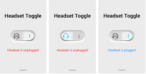 menghilangkan icon headset pada hp android