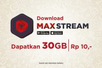 aplikasi maxstream telkomsel