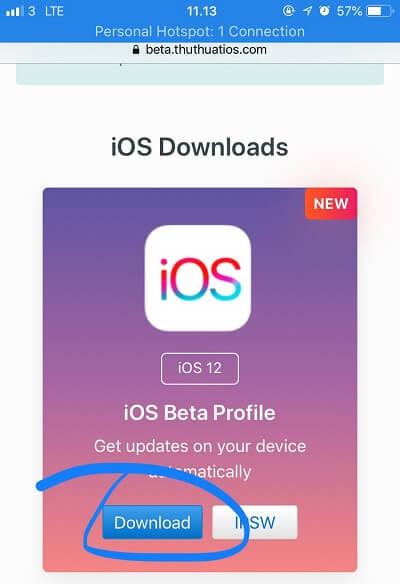 download ios 12 developer beta