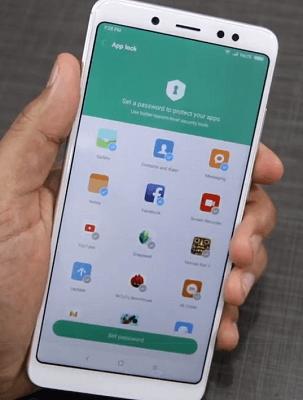 mengunci aplikasi dengan password xiaomi redmi note 5