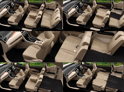 interior mobil xpander 2018
