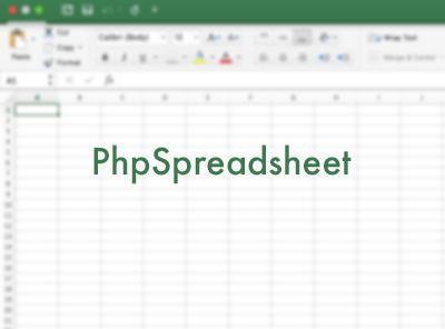 phpspreadsheet