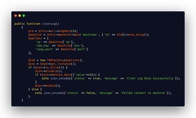 tarik data mesin absen php codeigniter