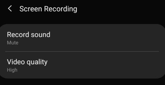 mengatur suara saat merekam layar s10