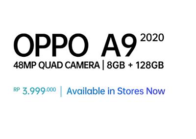 harga oppo A9 2020